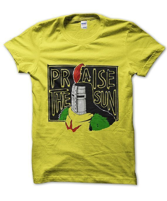 Praise the Sun knight Dark Souls t-shirt by Clique Wear