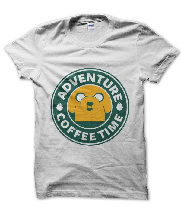 Adventure Time Coffee t-shirt by Clique Wear