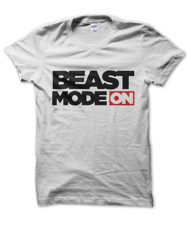 Beast Mode On gym t-shirt by Clique Wear
