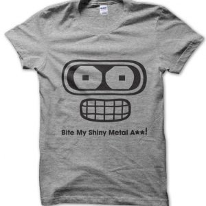 Futurama Bender Bite My Shiny Metal Ass T-Shirt
