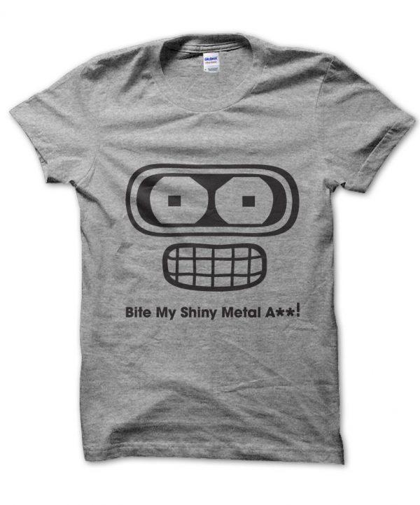 Bite My Shiny Metal Ass! Futurama t-shirt by Clique Wear