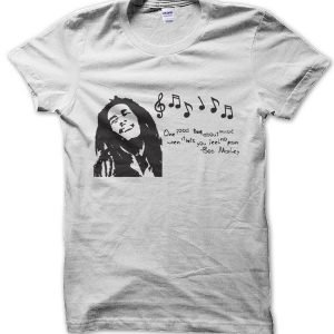 Bob Marley Quote T-Shirt
