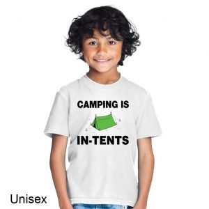 Camping Is In-Tents Children's T-shirt
