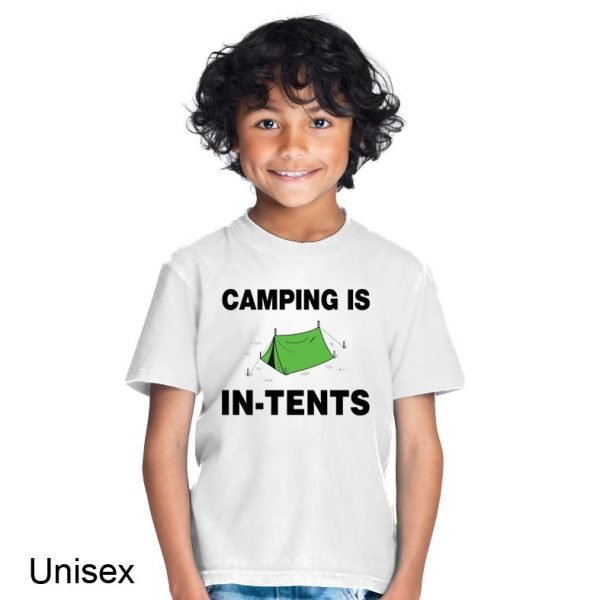 Camping is in-tents t-shirt by Clique Wear