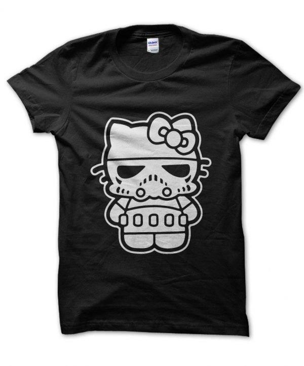 Darth Kitty Star Wars v Hello Kitty t-shirt by Clique Wear