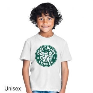 Doctor Who Don't Blink Coffee Children's T-shirt