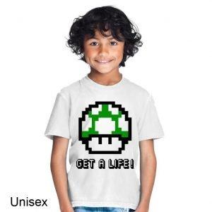 Gamer Get a Life! Children's T-shirt