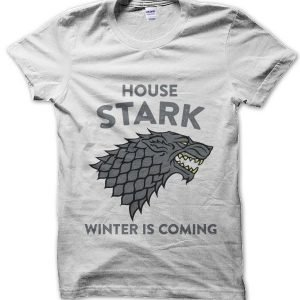 House of Stark Winter is Coming Game of Thrones T-Shirt