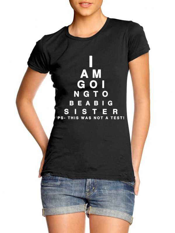 I am going to be a big sister t-shirt by Clique Wear