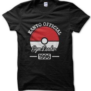 Kanto Official Gym Leader T-Shirt