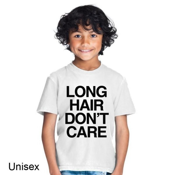 Long Hair Don't Care t-shirt by Clique Wear