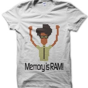 Memory is RAM! IT Crowd T-Shirt