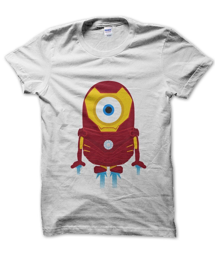 "... to review ""Minion Ironman T-Shirt"" Click here to cancel reply"