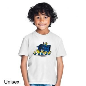 Minions at the Tardis Doctor Who Children's T-shirt