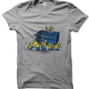 Minions at the Tardis Doctor Who T-Shirt