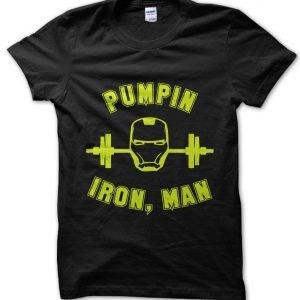 Pumpin Iron Man T-Shirt