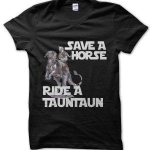 Star Wars Save a Horse Ride a Tauntaun T-Shirt