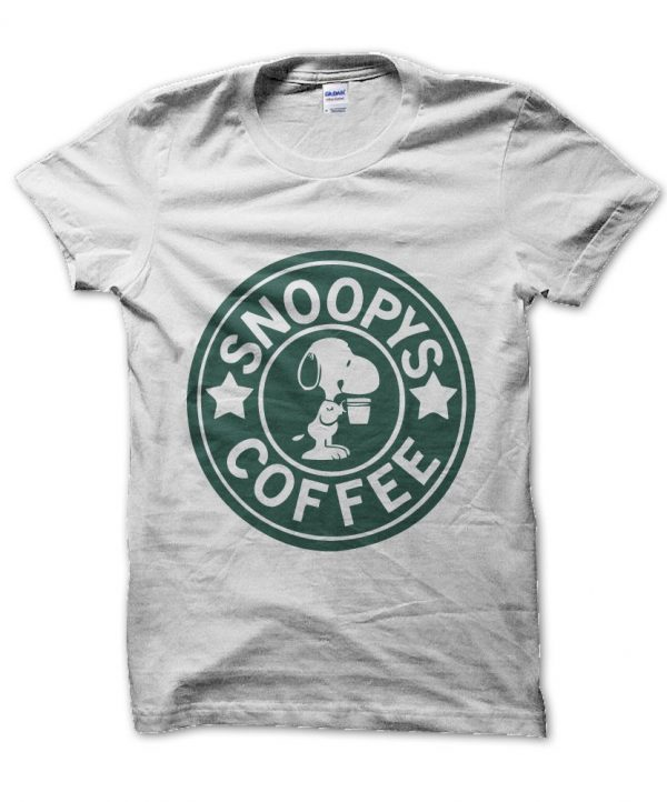 Snoopys Coffee t-shirt by Clique Wear