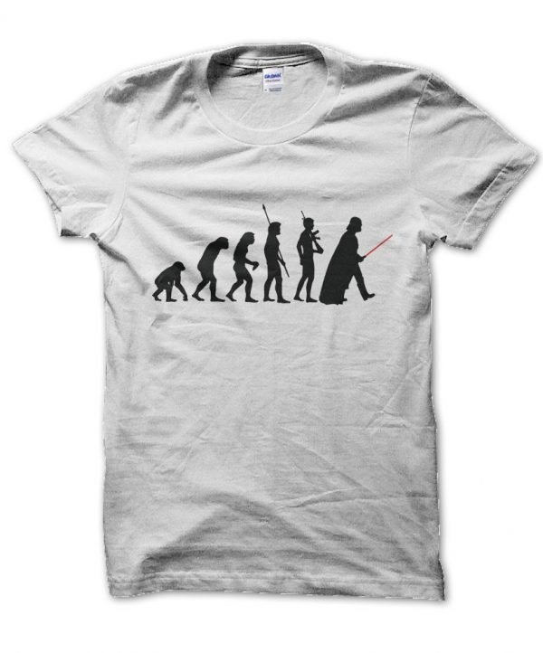Star Wars Evolution of Darth Vader t-shirt by Clique Wear