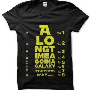 Star Wars Eye Test T-Shirt