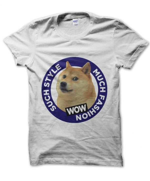 Such Style Much Doge meme t-shirt by Clique Wear