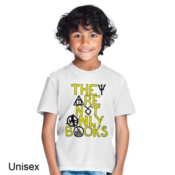 They Are Not Only Books t-shirt by Clique Wear