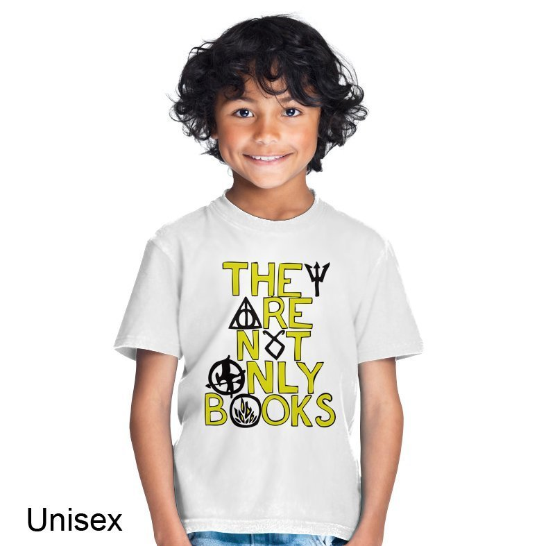 They Are Not Only Books Children's T-shirt • Clique Wear