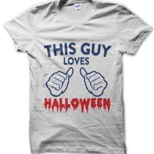 This Guy Loves Halloween T-Shirt
