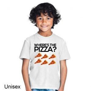 Where's the Pizza? Children's T-shirt