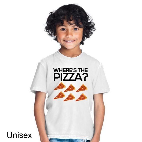 Where's the pizza? t-shirt by Clique Wear