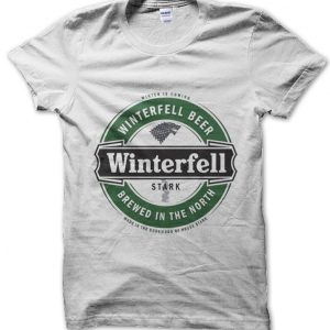 Winterfell Beer Brewed in the North Game of Thrones T-Shirt