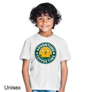 Adventure Coffee Time Children's T-shirt