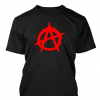 Anarchy rock band logo t-shirt by Clique Wear