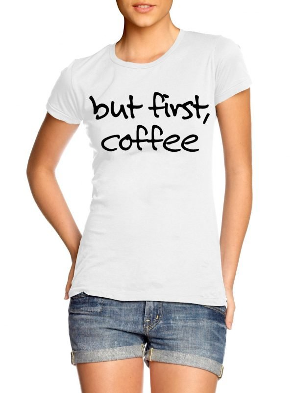 But first coffee t-shirt by Clique Wear