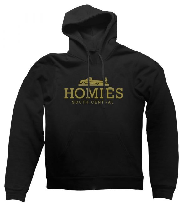 Homies south central hoodie by Clique Wear