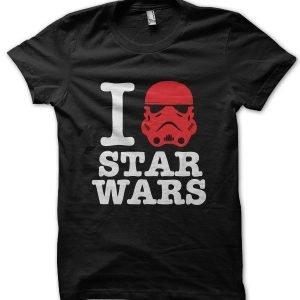 I Love Star Wars T-Shirt