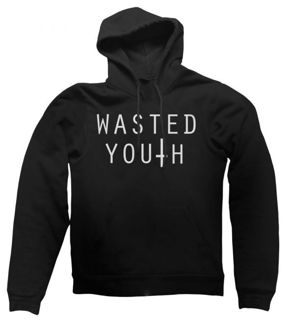 Wasted Youth hoodie by Clique Wear