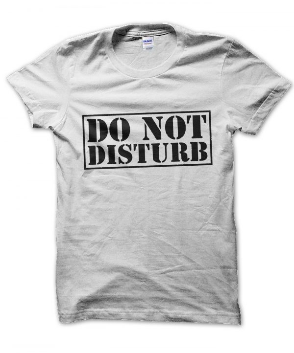 Do Not Disturb t-shirt by Clique Wear