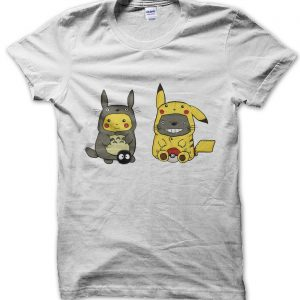 Pikahu and Totoro t-shirt by Clique Wear