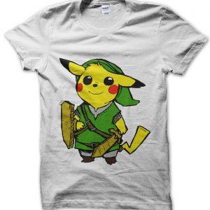 Pikalink Pikachu Link T-Shirt