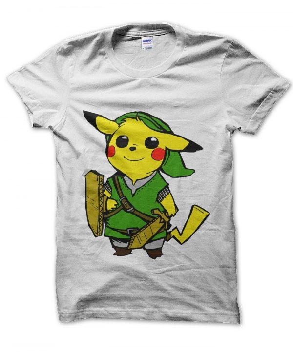 Pikalink pikachu link t-shirt by Clique Wear