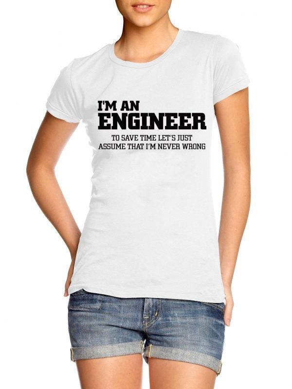 Im an engineer t-shirt by Clique Wear