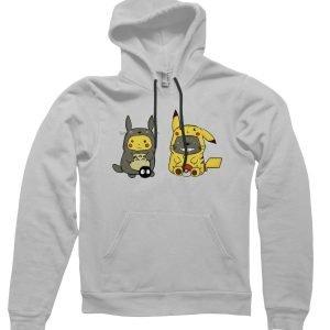 Pikachu Totoro Hoodie