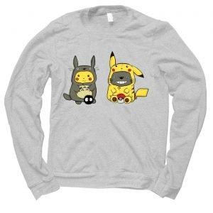 Pikachu Totoro jumper (sweatshirt)