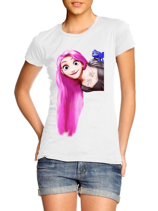 Punk Rapunsel t-shirt by Clique Wear