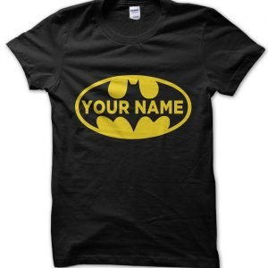 Personalised Batman T-Shirt