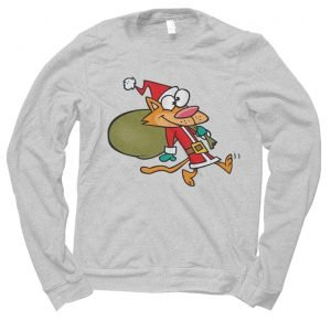 Santa Cat Christmas jumper (sweatshirt)