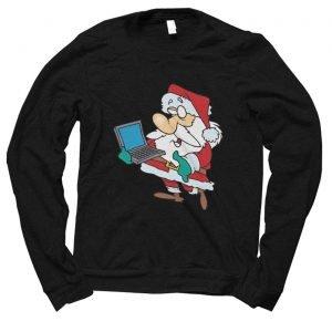 Santa Computer Technology Christmas jumper (sweatshirt)