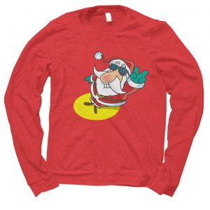 Santa Cool Christmas jumper (sweatshirt)