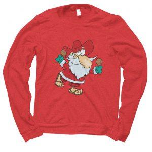 Santa Mexican Mexico Christmas jumper (sweatshirt)
